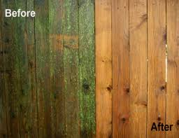 Wooden Fence Before After Peak Powerwash