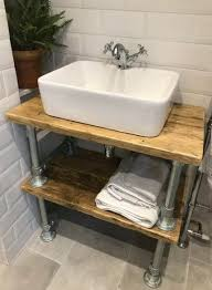 industrial sink vanity