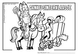 Peterscartoons Gratis Kleurplaten Dank U Sinterklaasje