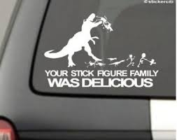 Fun Stick Figure Family Car Decals A Thrifty Mom Recipes Crafts Diy And More