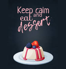 dessert quotes vector images over