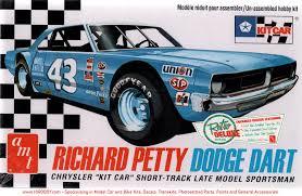 1 25 Richard Petty Dodge Dart Sportsman Model Kit Amt 819 12 Revell