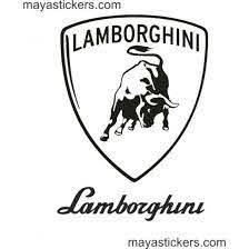 Lamborghini Shield Logo Decal For Cars Bikes And Laptop Lowest Price Online