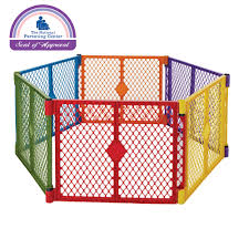 Superyard Colorplay Baby Gates Toddleroo By North States