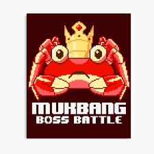 MUKBANG - KING CRAB Boss Battle ...