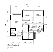 hdb floor plan bto flats ec sers house