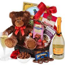 indulgence valentine s day gift basket