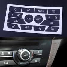 Decal Repair Kit Compatible With Bmw Idrive Console Buttons Easy To Apply Repair Your Worn Faded