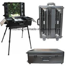deluxe portable mirrored studio rolling