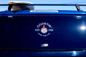 Coastin Window Decal Outer Banks Coastin Outfitters Beach Accessories
