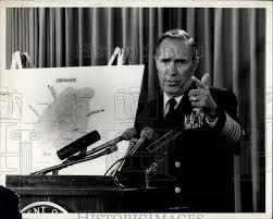 1983 Press Photo Admiral Wesley McDonald | Historic Images