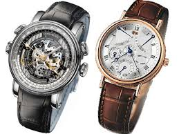 luxury watches displaying the equation