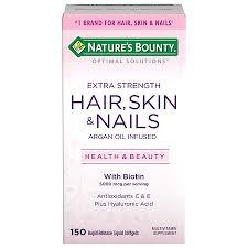 hair skin nails softgels