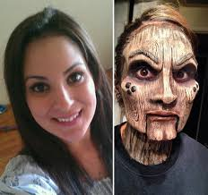 turns her friend into a creepy wooden doll
