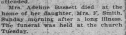 Adeline Foster - The Journal Times (Racine WI), 16 Dec 1914, Wed, p. 10 -  Newspapers.com