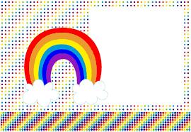 Kit Imprimible Arcoiris Gratis Invitaciones De Cumpleanos De Arco Iris Tarjetas Para Imprimir Gratis Invitaciones