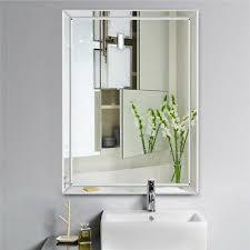 bathroom vanity wall mirror glass