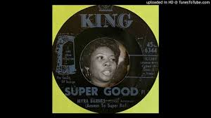 Myra Barnes - Super Good - Pt. 2 (King) 1969 - YouTube