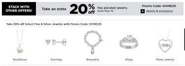 extra 20 off fine and silver jewelry