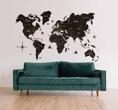 Preorder Travel Cork World Map 3 0 By Enjoy The Wood On Backerkit