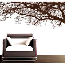 Park Lane Couture Realistic Tree Top Branches Silhouette Mural Decal Sticker Living Room Decor