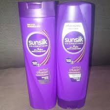 sunsilk perfect straight shoo and