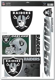 Oakland Raiders Decal 11x17 Ultra Sports Fan Shop