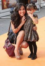 Myleene Klass and daugher Ava Bailey Quinn attends The Lion King 3D UK  Premiere in BFI IMAX, Waterloo on 25th September 2011 / The Lion King 3D -  Bollywood Photos