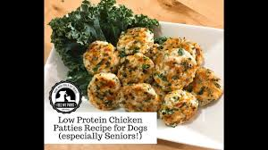 easy low protein en pattie recipe