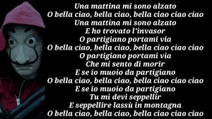Bella Ciao - Manu Pilas (Lyrics) - YouTube