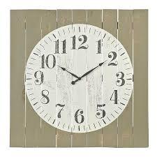 Abigail Wood Plank Pallet Clock | Kirklands