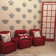 King Crown Wall Art Furniture Stencil Royal Design Studio Stencils