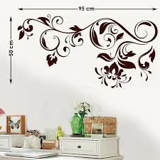 Delicate Henna Pattern Wall Stickers Wall Decals Decalsdesignindia