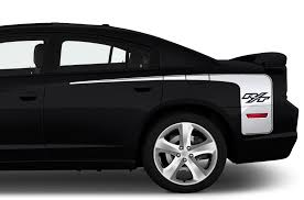 Dodge Charger 2011 2014 Custom Vinyl Decal Kit Rear R T Stripe Factory Crafts
