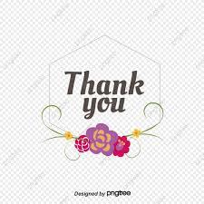 Gracias Tarjeta Hexagonal Decoracion De Flores Vector Png