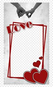 love photo frame png clipart