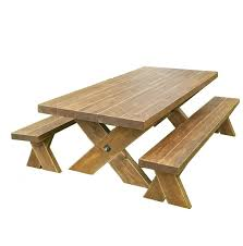 rustic farmhouse table and bench set