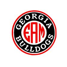 Georgia Bulldogs Uga Monogram Decal For Yeti Laptop Car Truck Tumbler Ebay