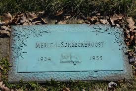 Merle L Schreckengost (1934-1955) - Find A Grave Memorial
