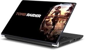 Laptop Sticker Lara Croft Tomb Raider Self Adhesive Vinyl Skin Various Sizes