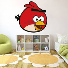 Shop Full Color Angry Birds Game Cartoon Kid Room Full Color Wall Decal Sticker Sticker Decal Size 48x48 On Sale Overstock 14820854