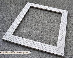 bathroom makeover day 13 mosaic tile