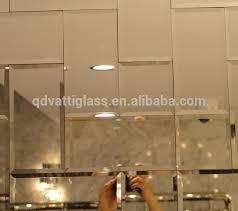 mirror tile small size beveled edge