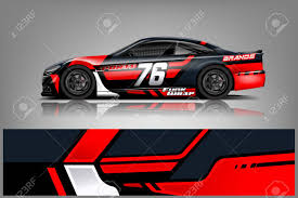 Car Decal Wrap Design Vector Graphic Abstract Stripe Racing Royalty Free Cliparts Vectors And Stock Illustration Image 121082790