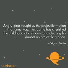 Angry Birds taught us the... | Quotes & Writings by Vineet Kanta ...