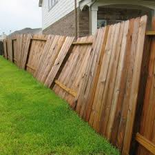 Three Common Reasons For The Dreaded Leaning Fence Accent Fence Company Diy Backyard Fence Privacy Fence Designs Wood Fence