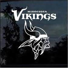 Minnesota Vikings Window Decal Sticker Custom Sticker Shop