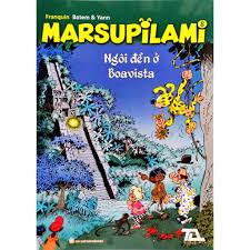 Truyện tranh - Marsupilami tập 8 - Ngôi đền ở Boavista