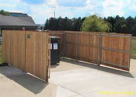Ohio Fence Company Eads Fence Co Dumpster Enclosures