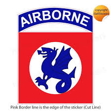 Collectibles Militaria Stickers Decals Collectibles Ar 2231 Mini 82nd Airborne Ranger Division Army Bumper Sticker Car Window Decal Zsco Iq